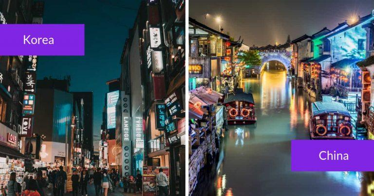 Teaching in China vs. Teaching in Korea