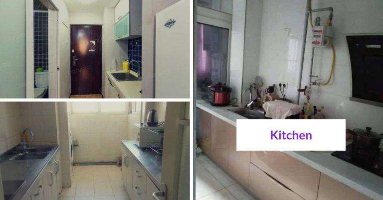 esl teacher apartment in China -kitchen