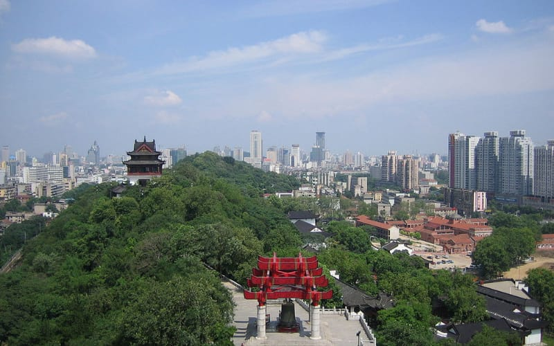 things to do in Wuhan: Yellow-Crane-Tower