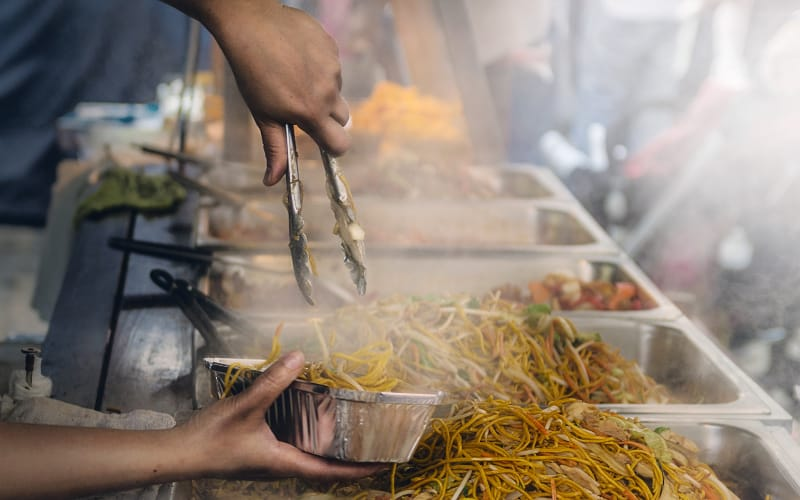 Try Street food in China