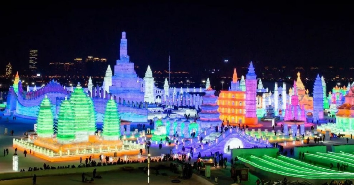 unusual things to do in China: Ice-Festival-in-Harbin