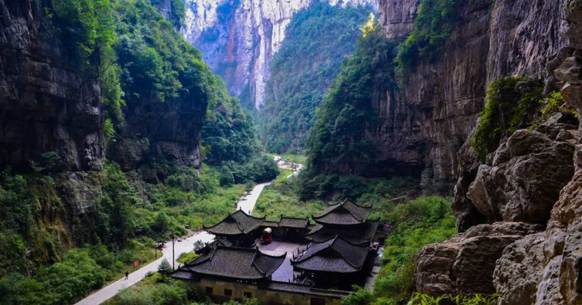 Chongqing Trip: Wulong-Mountain-Forest-Park