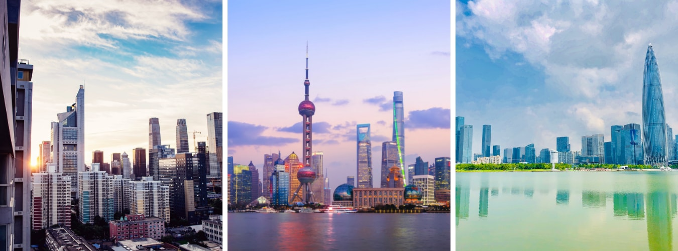 beijing vs shanghai vs shenzhen