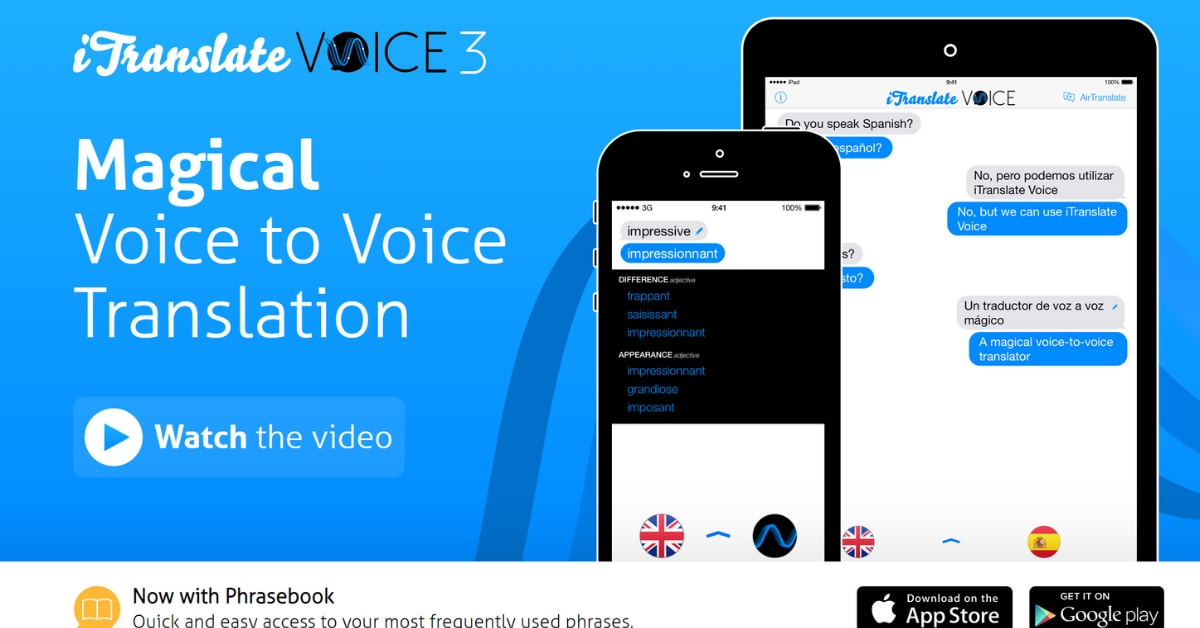 Online Chinese to English Translating Tools - iTranslate Voice 3