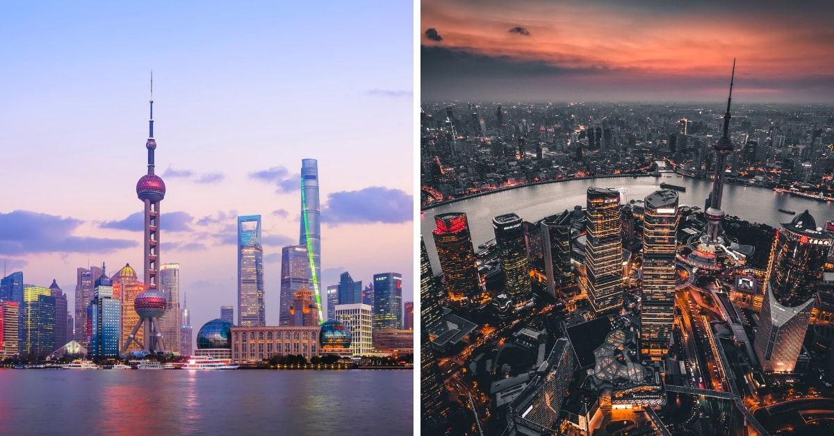 shanghai day and night