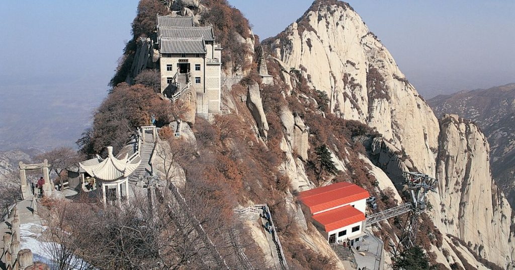 Mount Huashan in Xi'an
