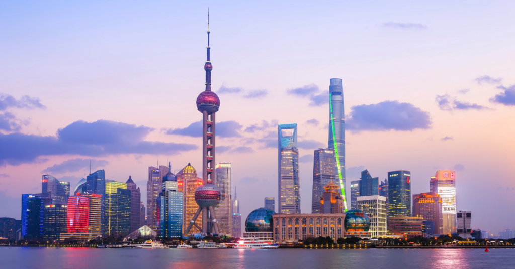 best city to teach English in China Shanghai