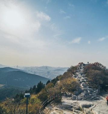 Hiking-in-Jinan