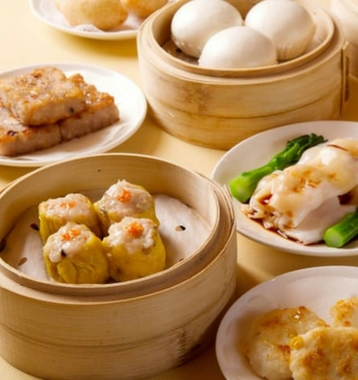 dim sum - food in shenzhen