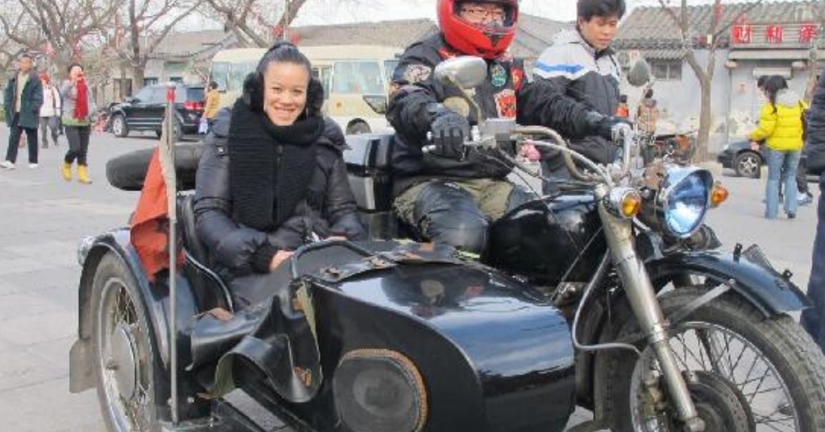 try a sidecar ride in Beijing while travelling in China