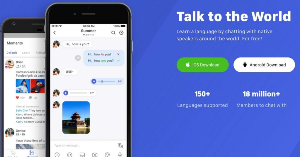 Best Apps to Learn Chinese - hello talk
