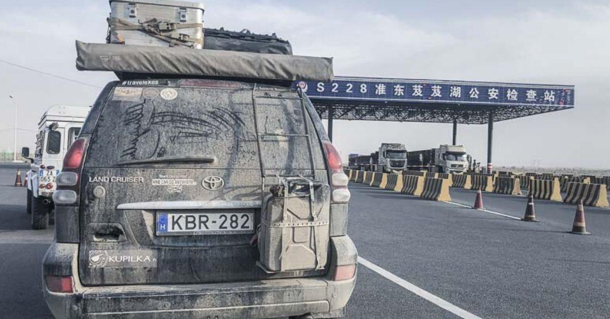 overlanding through China - 3