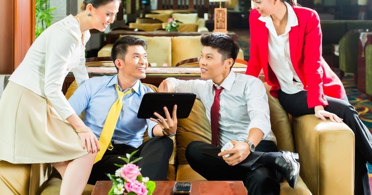 business culture in China small talk