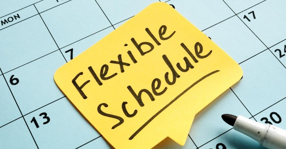 why teach English online your schedule is flexible