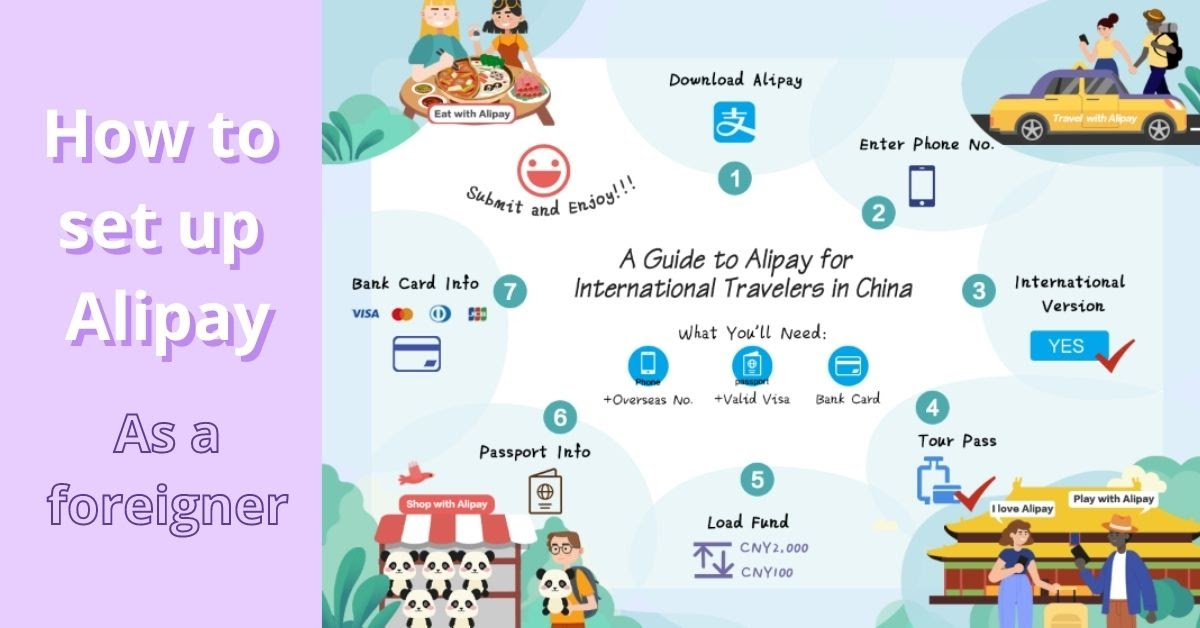 Alipay for Foreigners how to set up Alipay